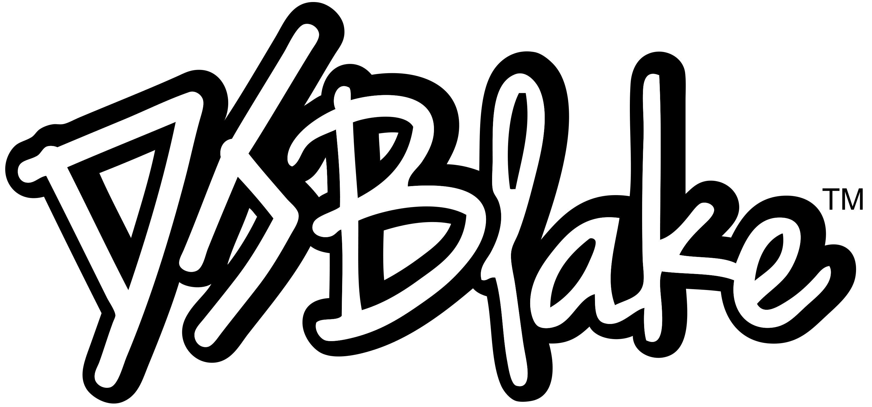 The Real DJ Blake Logo